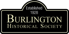 Burlington Historical Society Logo - Established 1928